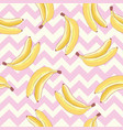 pattern bananas made in the cute style vector image