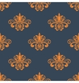 Retro orange seamless pattern vector image vector image