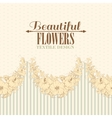 seamless fabric design hibiscus vector image vector image