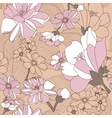 Seamless Pattern With Floral Background vector image vector image