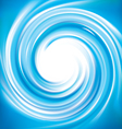 spiral liquid surface vector image vector image
