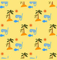 vacation pattern vector image