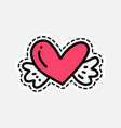 isolated patch design vector image