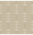 Seamless calligraphical pattern vector image