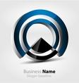 abstract glossy 3d logo