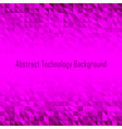 Abstract Violet Geometric Technology Background vector image vector image