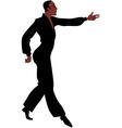 Ballroom Latin Samba dancer vector image vector image