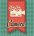 Camera digital design vector image vector image