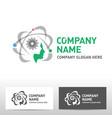 engineering logo design vector image vector image