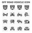Off road icon vector image