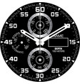 smart watch face i vector image vector image