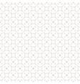subtle funky geometric seamless pattern vector image