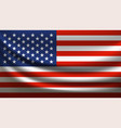 united states america waving flag vector image