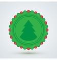 Merry Christmas Badge vector image