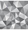 abstract triangle grey background vector image vector image