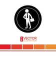 human activity design vector image vector image