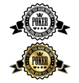 Poker room sign vector image vector image