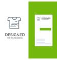 shirt tshirt cloth uniform grey logo design and vector image