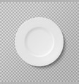 plate isolated object on a transparent background vector image
