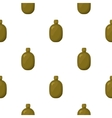 Army canteen icon in cartoon style isolated on vector image