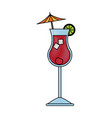 cocktail drink icon image vector image vector image