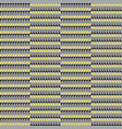 geometric seamless patterns in gray and yellow vector image vector image