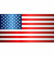 grunge flag of usa vector image vector image