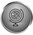 icon the globes vector image vector image