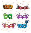 Masks vector image