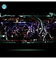 Universe background for presentation design vector image