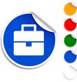 Bag icon vector image