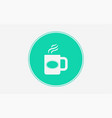 mug icon sign symbol vector image