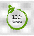 natural product isolated transparent background vector image vector image