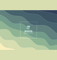 abstract wave water pattern lines background and vector image vector image
