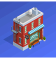 Barbershop Building Concept vector image