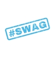 Hashtag Swag Rubber Stamp vector image vector image