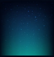 night starry sky blue space background vector image vector image