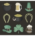 Set of for St Patricks Day vector image vector image