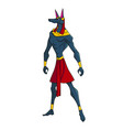 anubis guardian of the world of the dead vector image