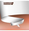 Background with white tape vector image vector image
