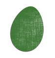 easter egg vintage vector image vector image