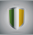 europe flags series ireland modern icon vector image vector image