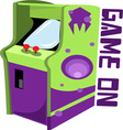 Game On vector image vector image