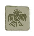 indian art totem symbols vector image vector image