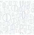 medicine tablet pattern vector image vector image