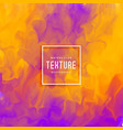 purple and yellow abstract ink flow watercolor vector image