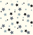 seamless pattern with stars background of vector image vector image