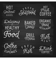 slogans for cafe and restaurant vector image vector image
