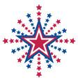 american star symbol sign emblem logo icon vector image vector image