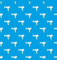 hair dryer pattern seamless blue vector image vector image
